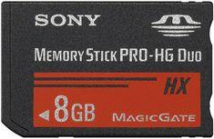 Sony spominska kartica Memory Stick PRO-HG Duo, 8GB (MSHX8B)