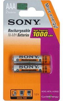 Sony 2x AAA Ni-MH baterija 1000 mAh (NH-AAA-B2F)
