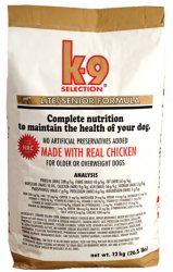 K-9 Selection Lite Formula Senior 12 kg