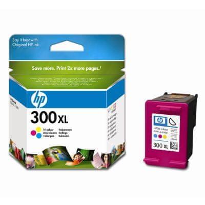 HP náplň č.300XL, barevná (CC644EE)