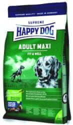 Happy Dog Supreme Fit & Well Adult Maxi Kutyaeledel, 15 kg