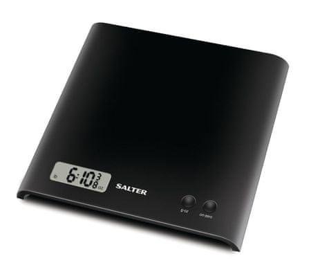 Salter 1066 čierna digitálna kuchynská váha
