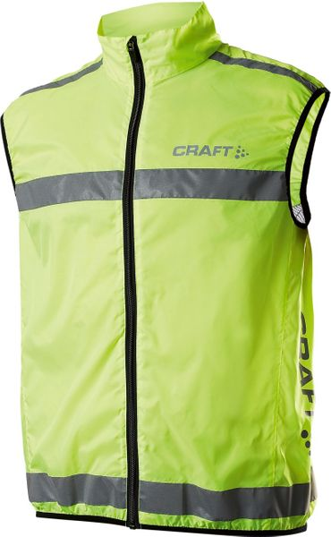 Craft Vesta Safety Vest Žlutá XS