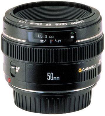 Canon EF 50 mm f/1,4 USM + 1500 Kč od Canonu zpět!