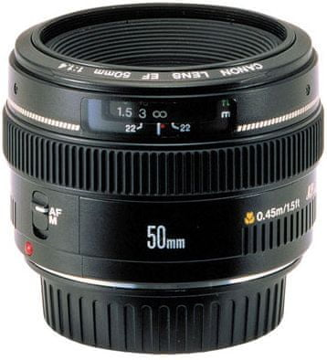 Canon EF 50 f/1,4 USM - II. jakost
