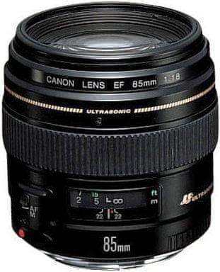Canon EF 85 mm f/1,8 USM + 1500 Kč od Canonu zpět!