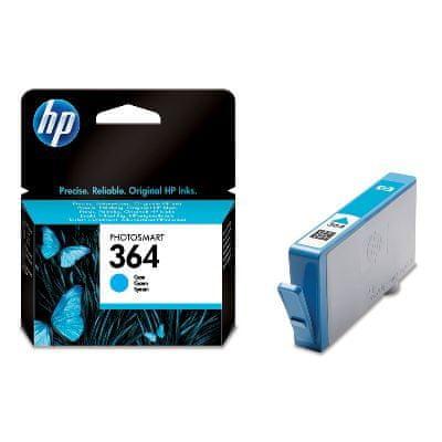 HP náplň č.364, azurová (CB318EE)