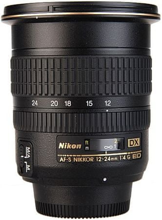 Nikon objektiv AF-S DX Zoom-Nikkor 12-24 mm f/4G IF-ED