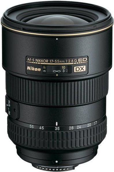 Nikon Nikkor AF-S 17-55 mm f/2,8 DX IF-ED