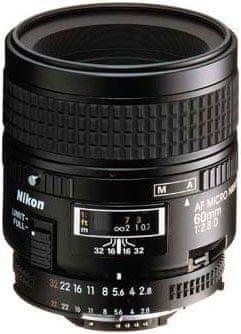 Nikon obiektyw AF 60mm f/2,8 MICRO D A