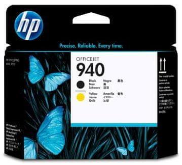 HP C4900A, tiskové hlavy, č.940, černá a žlutá