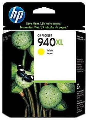 HP Kartuša C4909AEXL Yellow #940XL 1400 strani