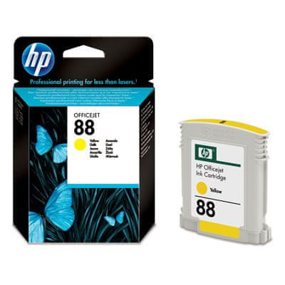 HP Kartuša C9388AE Yellow 10ml #88