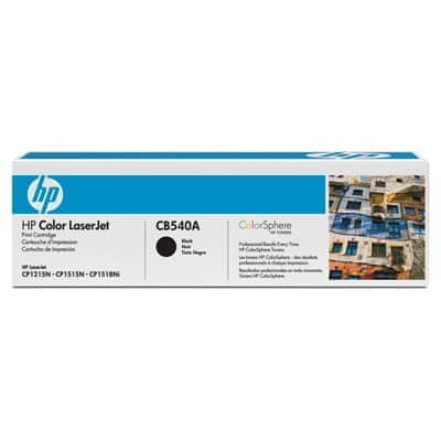 HP CB540A fekete nyomtatókazetta
