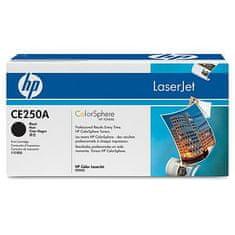 HP toner Color LaserJet CE250A, črn