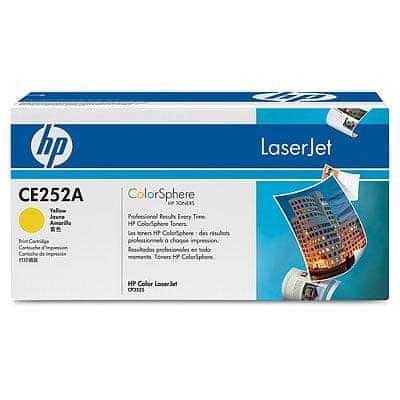 HP toner Color LaserJet CE252A, rumen