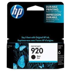 HP CD971AE, č.920, černá