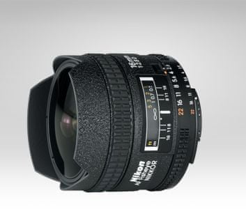 Nikon Nikkor 16 mm f/2,8 D A Fisheye