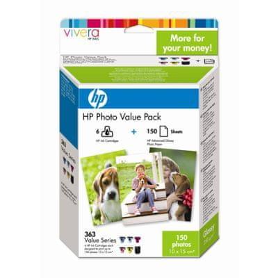 HP Q7966EE, č.363, Foto Value Pack