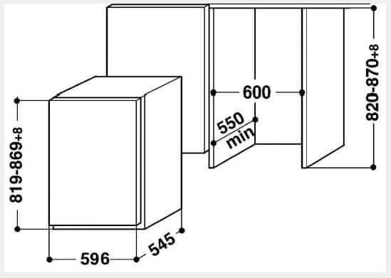 Whirlpool ARZ 005 / A+ + 5 let záruka na kompresor
