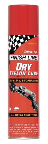 FINISH LINE Teflon Plus (dry) 235 ml sprej