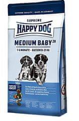 Happy Dog Supreme Medium Baby 28 Kutyaeledel, 4 kg