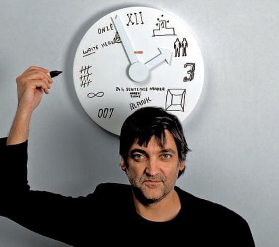 Alessi Blank clock