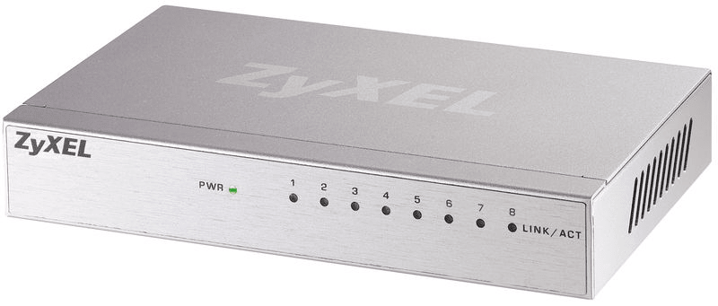 Zyxel GS-108Bv3, 8-port Gigabit Ethernet switch (GS-108BV3-EU0101F)