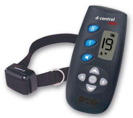 DOG trace elektronický výcvikový obojek d-control 400