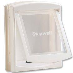Staywell dvířka s transparentním flapem střední