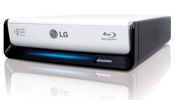 LG Blu-ray BE12LU, externí - retail