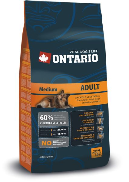 Ontario Adult Medium 13 kg