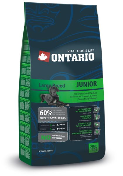 Ontario Junior Large 13 kg