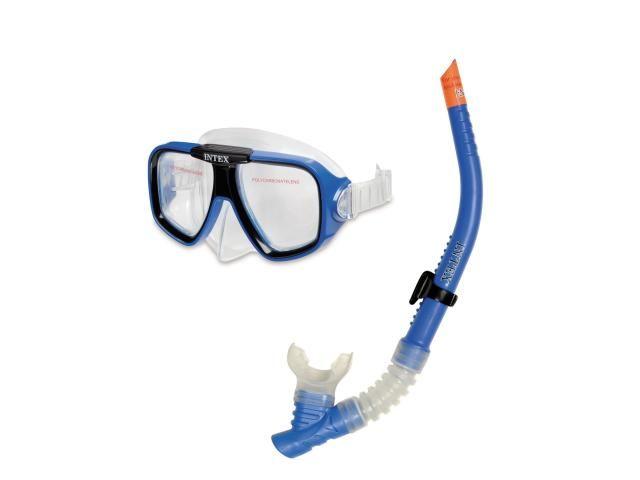 Intex Sportovní maska a šnorchl modrá