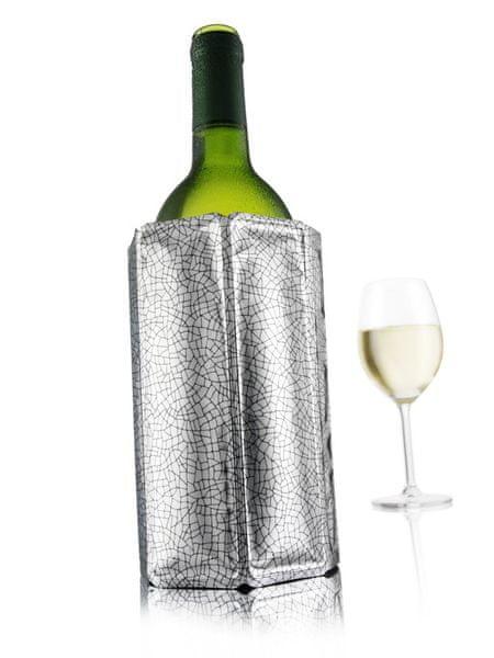 IIC Chladící obal na víno - stříbrná (38803)