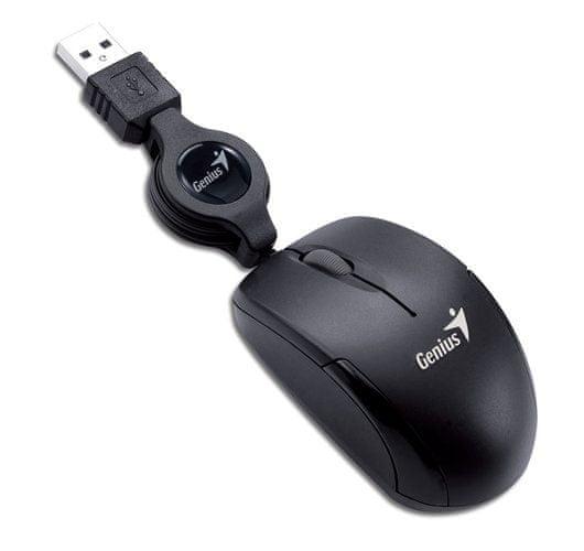 Genius miš Micro Traveler, crni
