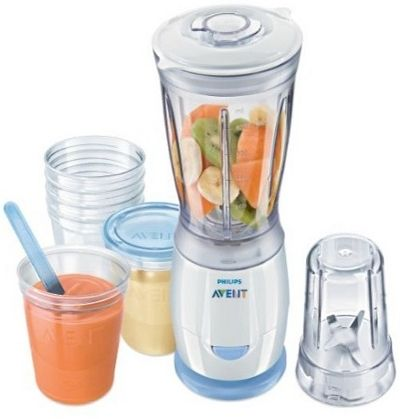 Philips Avent Mini-blender SCF860/25 + 6 kubeczków
