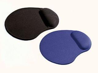 PremiumCord Podkładka pod mysz komputerową ERGO żelowa, czarna