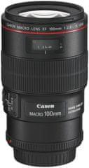 Canon objektiv EF 100 mm f/2.8 IS USM MACRO