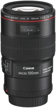 Canon objektiv EF 100 mm f/2.8 IS USM MACRO