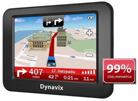 """Dynavix  Atto - Holiday, 3,5""""LCD, mapy 10 zemí"""