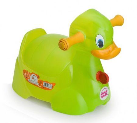 OK baby nočník Quack zelený