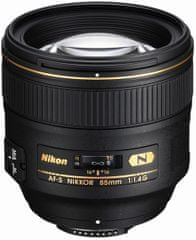Nikon objektiv AF-S NIKKOR 85 mm f/1,4G