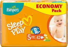 Pampers pleničke Sleep&Play Junior (5), 11-25 kg, 42kosov