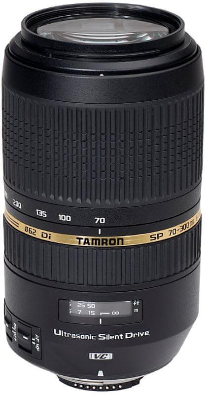 Tamron 70-300 mm f/4-5,6 SP Di VC USD pro CANON (5 let záruka)