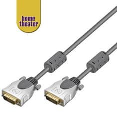 Home Theater HQ kabel DVI-D, dual link, M/M, 5m