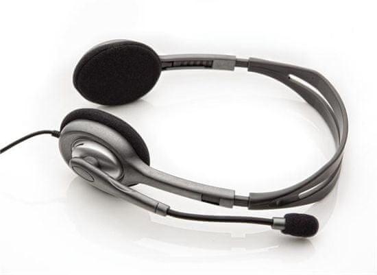 Logitech H110 stereo slušalke z mikrofonom