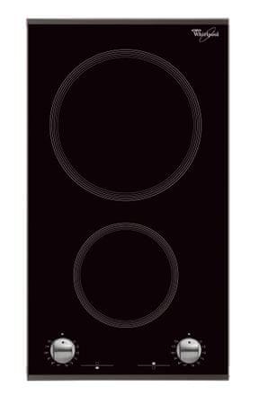Whirlpool steklokeramična kuhalna plošča AKT 360/IX