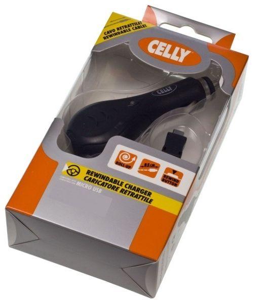 Celly autonabíječka - zatahovatelný kabel - Nokia DC-4