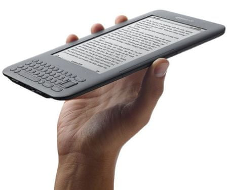 Amazon Kindle 3 Keyboard - WiFi, 6""